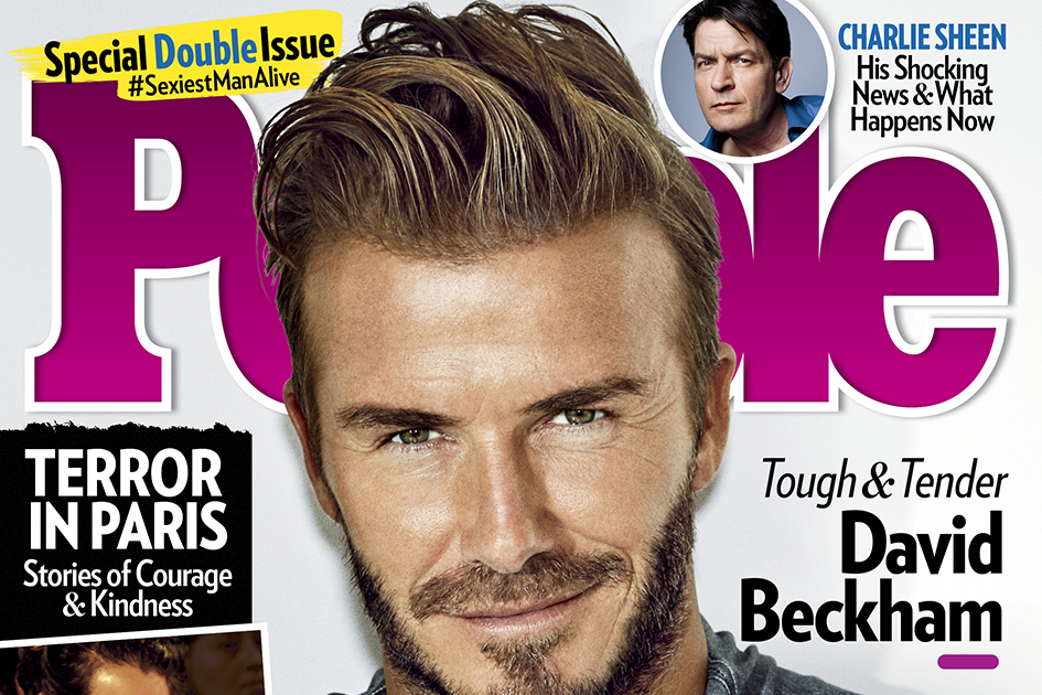 David Beckham Wins People Magazines Coveted Sexiest Man Alive Title