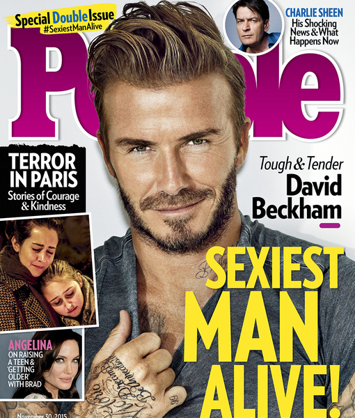 David Beckham Wins People Magazine's Coveted Sexiest Man Alive Title