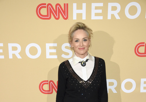 Sharon Stone Is 'Grateful' to Charlie Sheen for Bringing Awareness to HIV