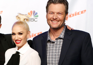 Gwen Stefani Trips, Blake Shelton Saves Her from Falling on 'The Voice' —…