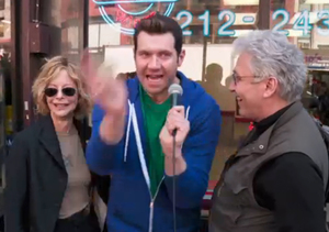 Meg Ryan Helps Billy Eichner Ambush Strangers… and It Is Hilarious