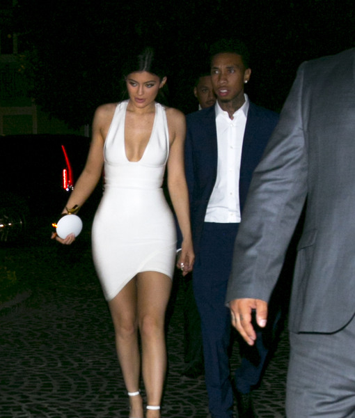 Kylie Jenner & Tyga Are Back Together at AMAs After-Party