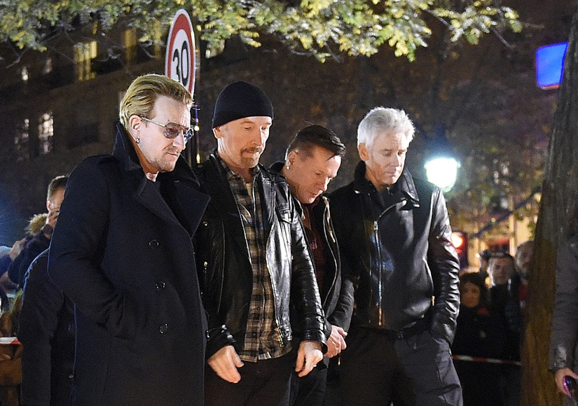 U2 Reschedules Shows After Paris Terror Attacks