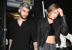 New Couple Alert! Gigi Hadid & Zayn Malik Hold Hands