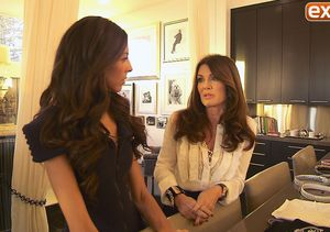 Lisa Vanderpump Gives 'Extra' a Tour of Her Home