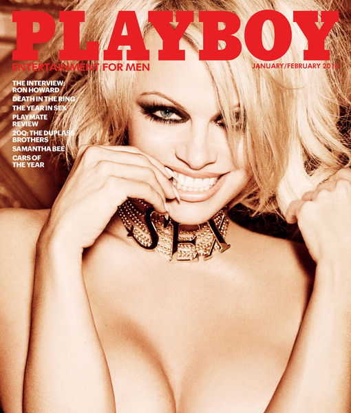 Pamela Anderson Covers Final Nude Playboy Issue, Shares Wildest Playboy-Mansion Experience