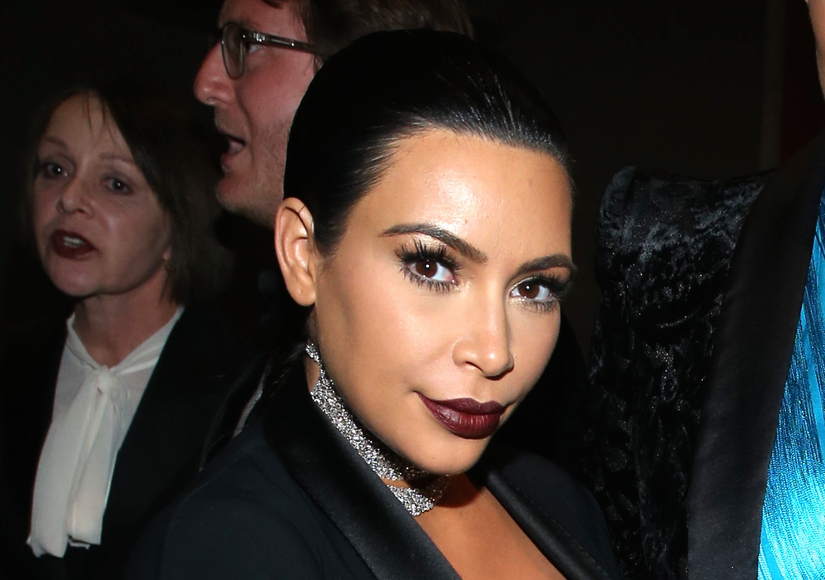 Kim Kardashian's Last-Second Baby Bump Bared!