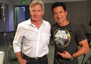 Harrison Ford Jokes About Breaking His Leg on 'Star Wars: The Force Awakens'