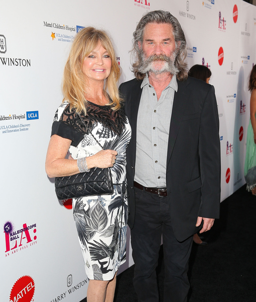 Kurt Russell Laughs Off Goldie Hawn Wedding Rumors