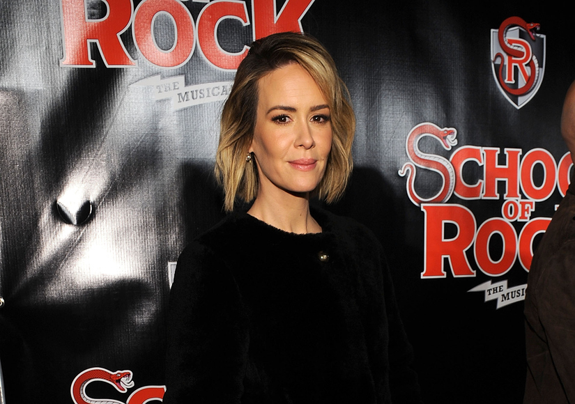 Sarah Paulson Sounds Off on Media Interest in Holland Taylor Relationship