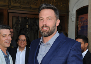 Ben Affleck's Massive Back Tattoo Is Real!