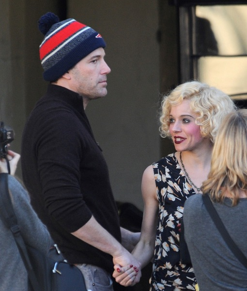 Ben Affleck & Sienna Miller Are Not Dating, Despite Holding Hands on 'Live by Night' Set