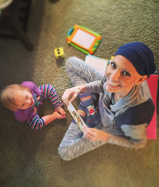 Post-Grammy Nomination, Joey Feek Is Out of Bed, Playing with Daughter