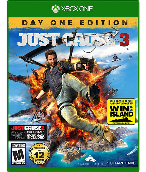 "Enter for a chance to win ""Just Cause 3"" in the ExtraTV Twitter Giveaway"