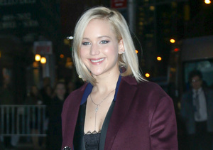 'Big-Time Puker' Jennifer Lawrence Jokes About Having 'Lindsay Lohan-Grade…