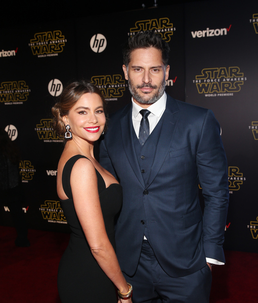 Sofia Vergara & Joe Manganiello Enjoy First Post-Wedding Date at 'Star Wars: The Force Awakens' Premiere