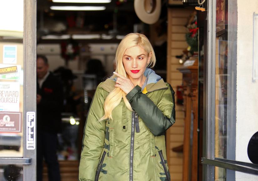 Gwen Stefani Goes Christmas Shopping for Blake Shelton?