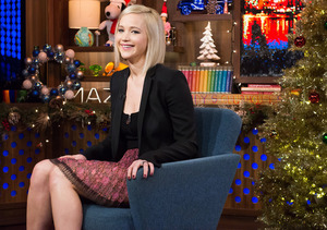 Jennifer Lawrence Admits Kissing Co-Star Liam Hemsworth Off-Screen
