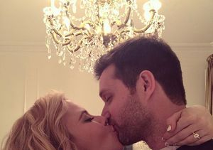 Tara Lipinski Engaged to Todd Kapostasy – See the Sparkling Ring!