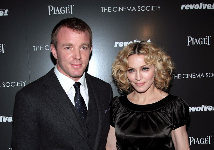 Madonna & Guy Ritchie's Custody Battle Over Rocco Is Getting Ugly