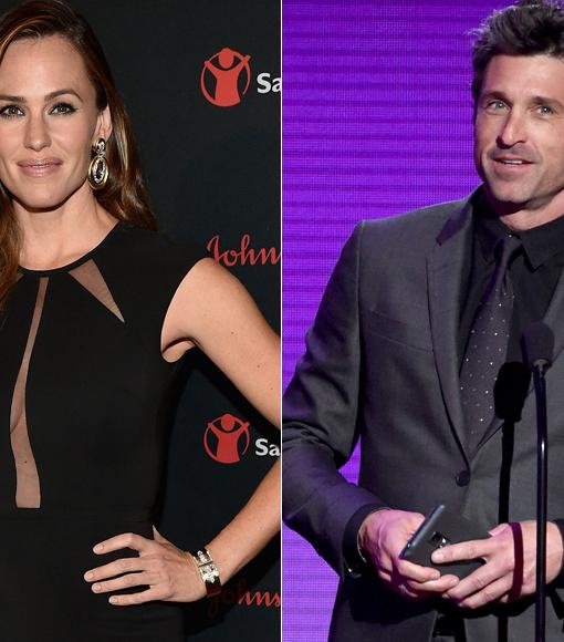 Rumor Bust! Jennifer Garner & Patrick Dempsey Are NOT Secretly Dating