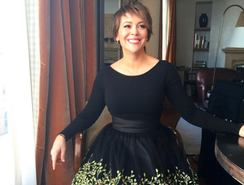 Alyssa Milano Dishes on Her 46-Pound Weight Loss ...