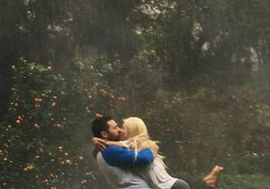 Christina Aguilera & Matthew Rutler Caught Kissing in the Rain