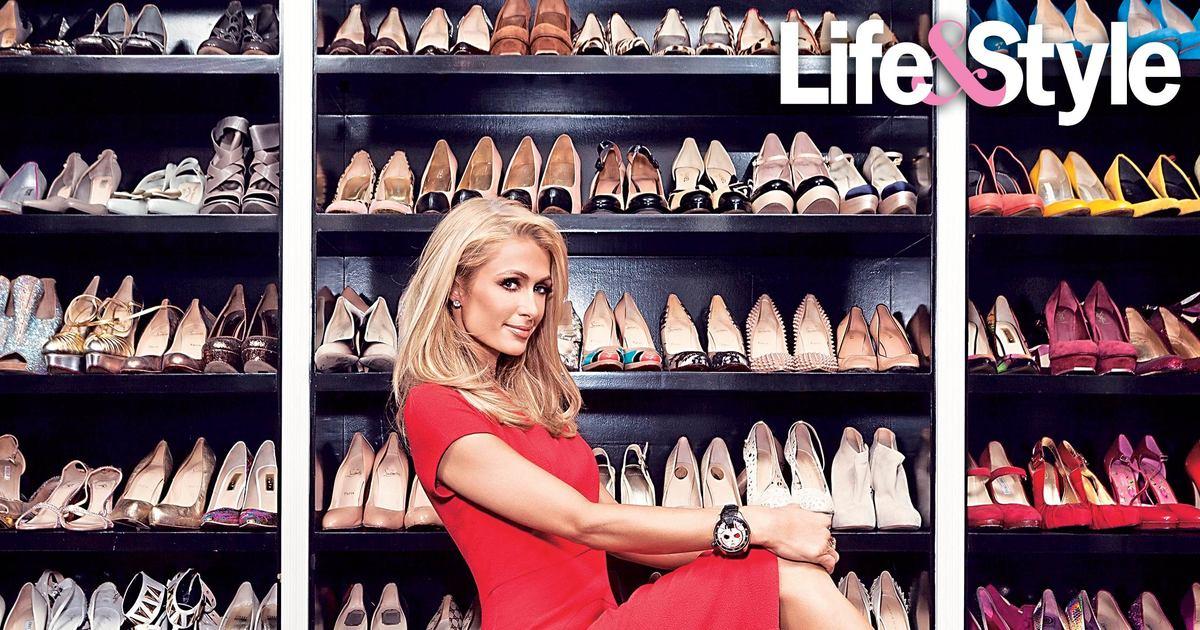 Paris Hilton Shoe Closet