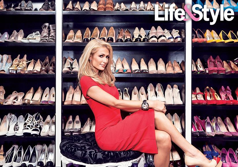 Take a Peek Inside Paris Hilton's AMAZING Closet!