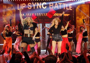 Channing Tatum & Beyoncé 'Run the World' on 'Lip Sync Battle'