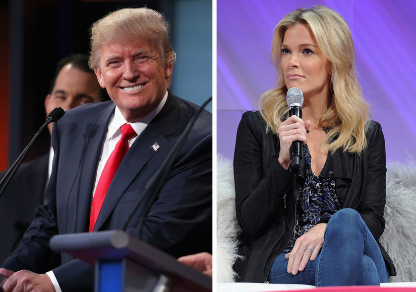 Trump Says Kelly Is 'the Last Person in the World I Would Try to Woo'