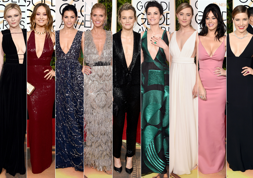Golden Globes: The Stars Who Risked Wardrobe Malfunctions for Seriously Sexy Looks