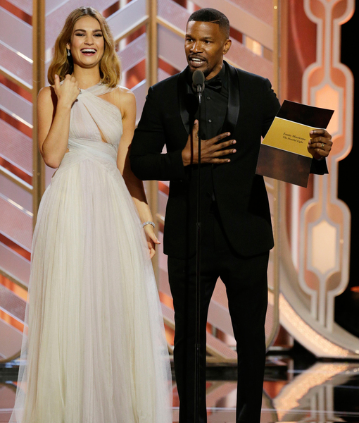 Jamie Foxx Takes 'Full Responsibility' for His Steve Harvey Moment at the Globes