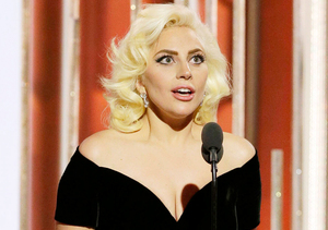 Platinum-Blonde Lady Gaga Channels Marilyn Monroe in Curve-Hugging Dress at…