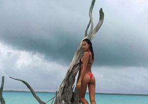 Bradley Cooper's GF Irina Shayk Rocks Sexy Thong Bikini