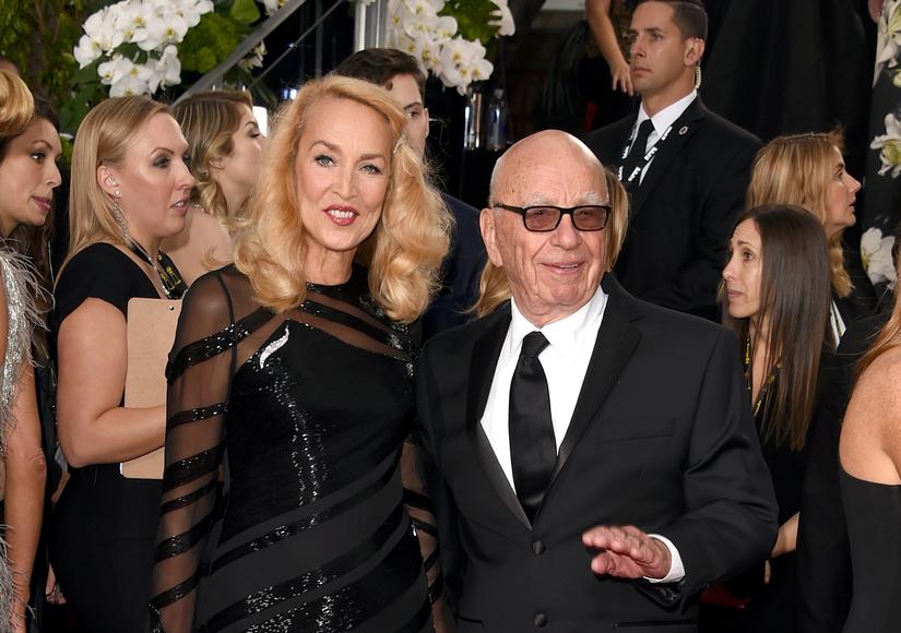 Rupert Murdoch Engaged to Jerry Hall