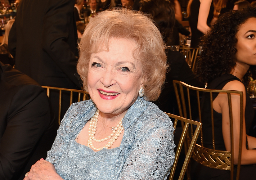 Betty White Turns 94, Celebrates by Roasting Michael Strahan
