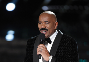 Steve Harvey Weighs on Oscars, His Miss Universe Fiasco & the Super Bowl?!