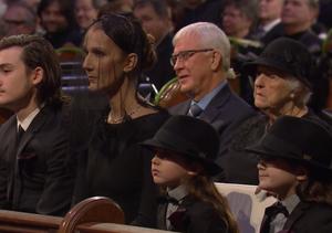 Inside Réne Angélil's Funeral: A Heartbroken Céline, Réne-Charles'…