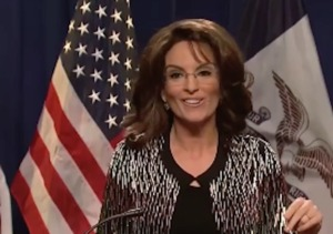Tina Fey Is Sarah Palin in 'SNL' Opener