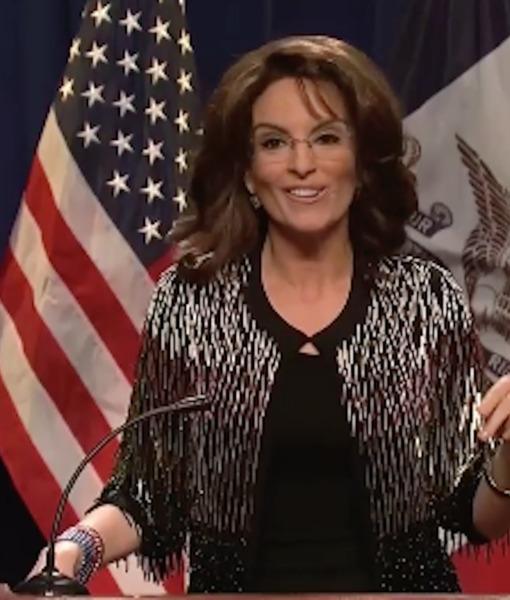 Tina Fey and Darrell Hammond Tweak Sarah Palin's Endorsement of Donald Trump