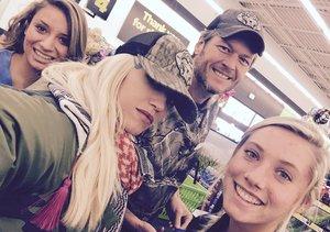 Blake Shelton & Gwen Stefani Visit the Dollar Store!