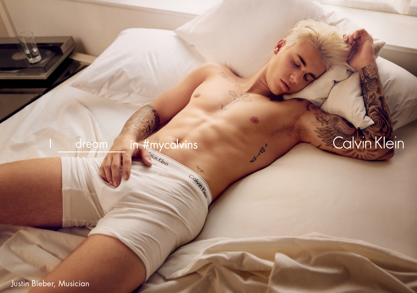 Justin Bieber & Kendall Jenner Strip Down for New Calvin Klein Campaign