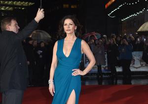 Catherine Zeta-Jones Suffers a Marilyn Monroe Moment in London