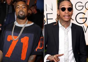 Kanye West and Wiz Khalifa's Epic Twitter War