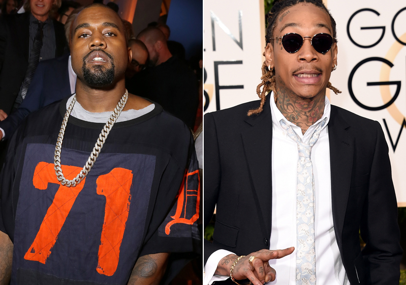 Extra Scoop: Kanye West and Wiz Khalifa's Epic Twitter War