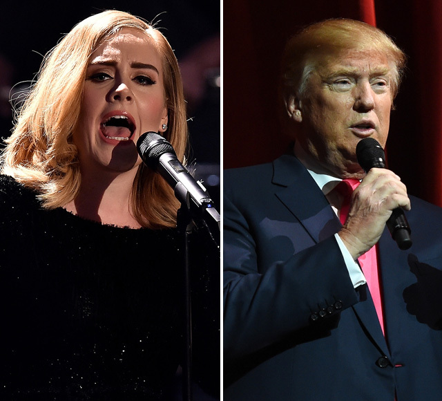Adele Wants Donald Trump to Stop Using Her Music