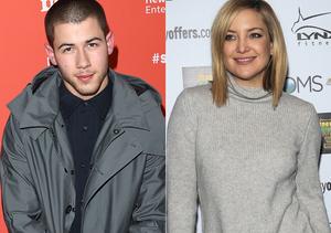 Is Nick Jonas Sleeping with Kate Hudson? He Answers!