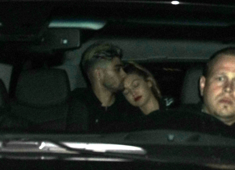 Zayn Malik Kisses Gigi Hadid After He Confirms She's His Girlfriend