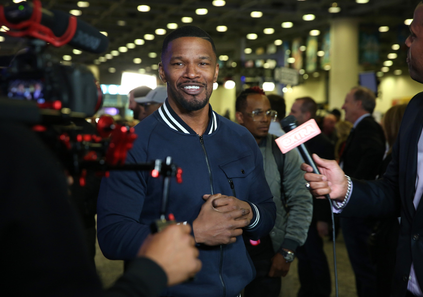 Watch Jamie Foxx's Hilarious Impression of Cam Newton's Dab Dance